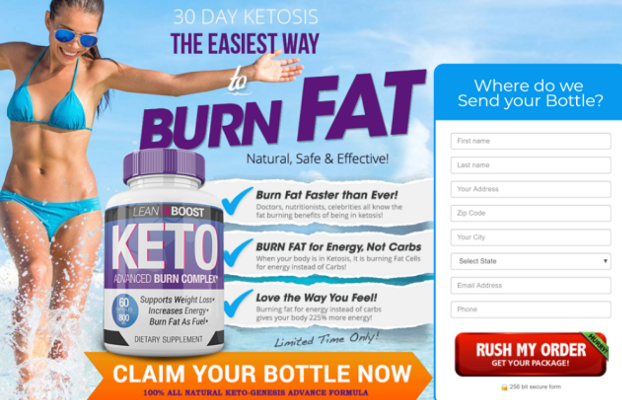 Lean Boost Keto - orders