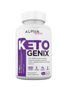 alpha femme keto genix - featured