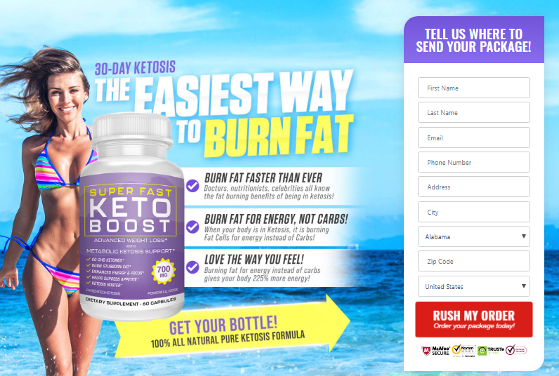 super fast keto boost - weightloss pills