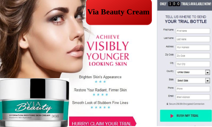 via beauty cream - Reviews