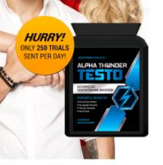 alpha thunder testo - ingredients