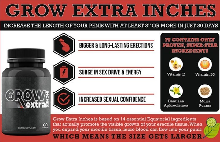 grow extra inches - ingredients