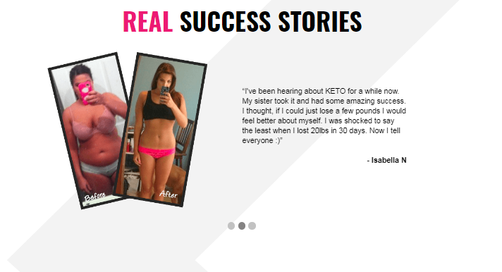 Keto BHB Real - successful product
