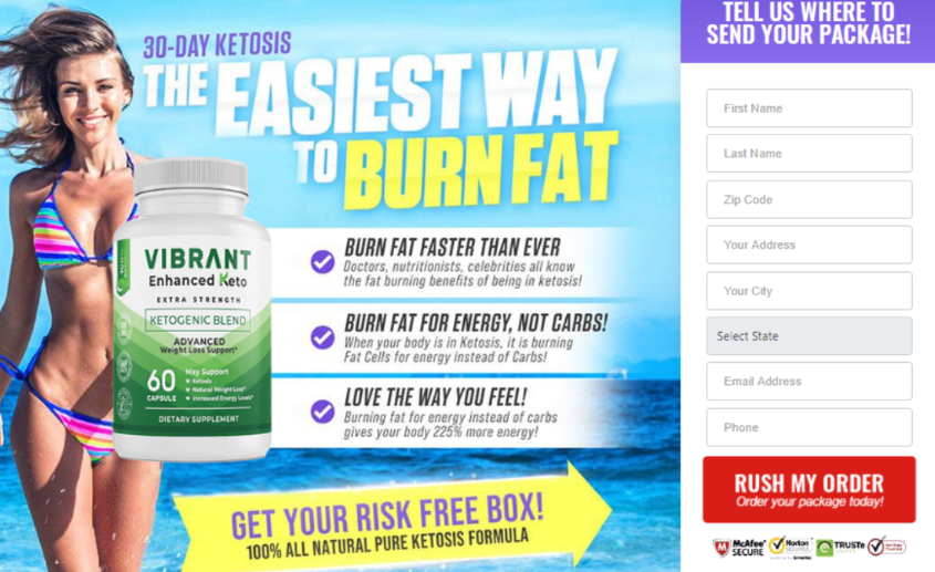 Vibrant Enhanced Keto - overview buy