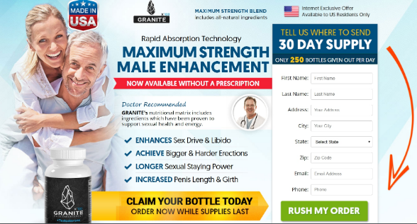 Granite Male Enhancement - safe
