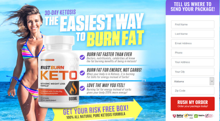 fast burn keto - real weightloss product