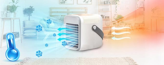 Blaux Portable AC - cool freshment