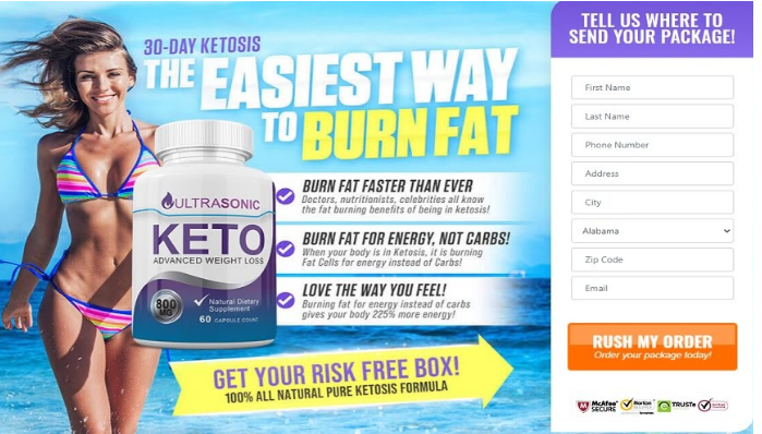 UltraSonic Keto - USA Diet Pills