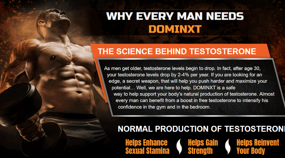 DominXT -#Testosterone Booster Benefits