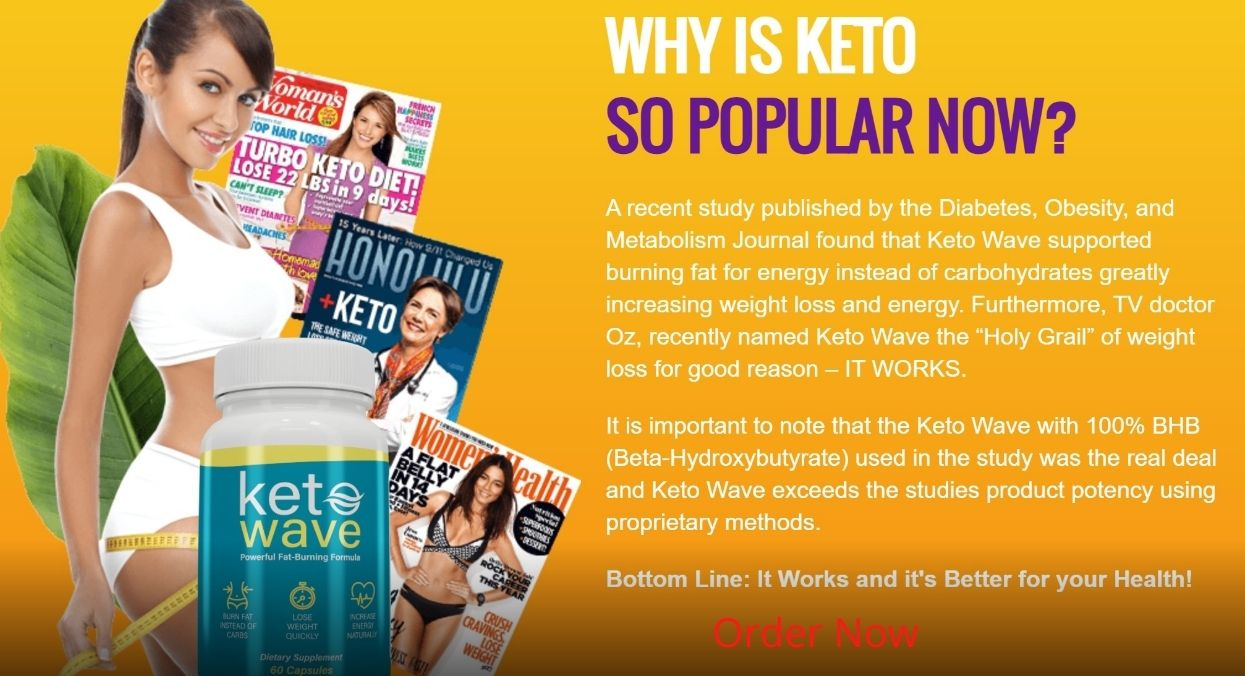Keto Wave - Official benefits